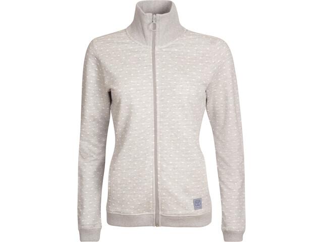 Elkline Shortstory Sweat Jacket Women, greymelange